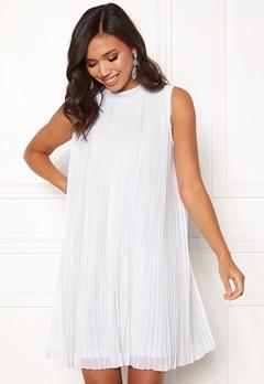 Make Way Agnes pleated dress White Bubbleroom.eu