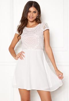 Make Way Aliza dress White / Pink Bubbleroom.eu
