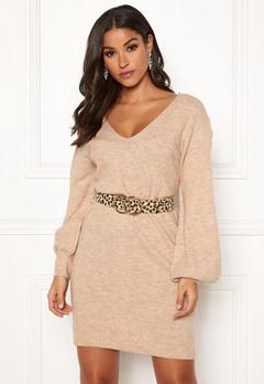 Make Way Alma knitted dress Beige Bubbleroom.eu