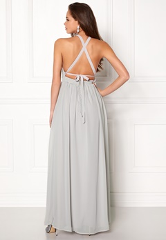 Make Way Cora Maxi Dress Light grey Bubbleroom.eu