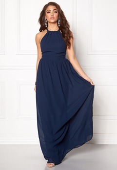 Make Way Cora Maxi Dress Midnight blue Bubbleroom.eu