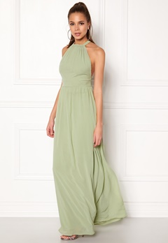 Make Way Cora Maxi Dress Dusty green Bubbleroom.eu
