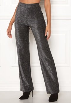 Make Way Dila sparkling trousers Black Bubbleroom.eu