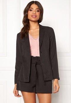 Make Way Disa soft blazer Black / White / Striped Bubbleroom.eu