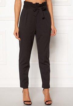 Make Way Disa trousers Black / White / Striped Bubbleroom.eu