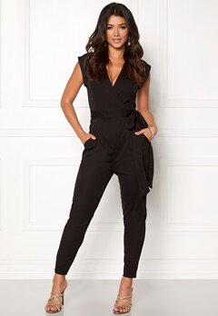 Make Way Elle Jumpsuit Black Bubbleroom.eu