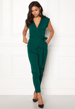 Make Way Elle Jumpsuit Dark green Bubbleroom.eu