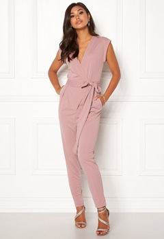 Make Way Elle Jumpsuit Dusty pink Bubbleroom.eu