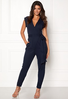 Make Way Elle Jumpsuit Midnight blue Bubbleroom.eu
