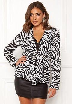 Make Way Elly soft blazer Zebra Bubbleroom.eu