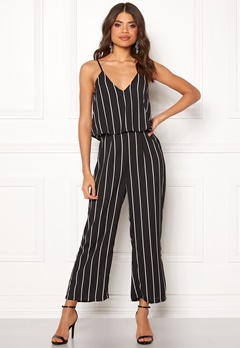 Make Way Floria jumpsuit Black / White Bubbleroom.eu
