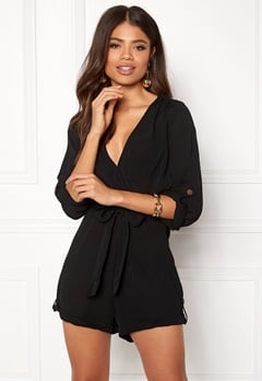 Make Way Flynn Playsuit Black Bubbleroom.eu