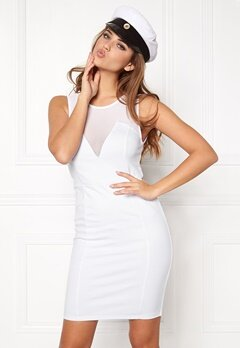 Make Way Idalia Dress White Bubbleroom.eu