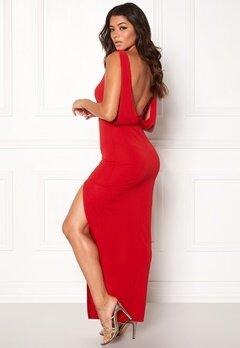 Make Way Janelle Dress Red Bubbleroom.eu