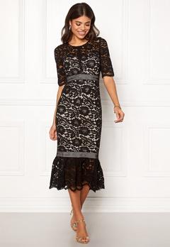 Make Way Jessenia dress Black / Beige Bubbleroom.eu