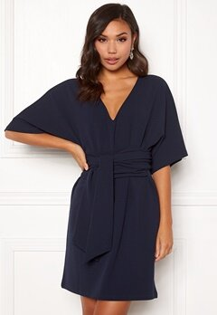 Make Way Joelle dress Dark blue Bubbleroom.eu