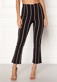 Make Way Joline trousers Black / White / Striped Bubbleroom.eu