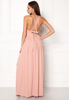 Make Way Jonna Maxi Dress Dusty pink Bubbleroom.eu