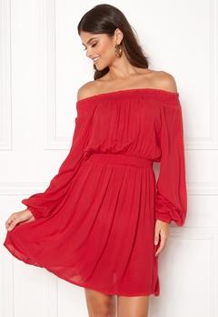 Make Way Krista offshoulder dress Red Bubbleroom.eu