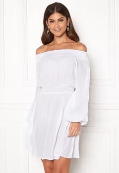 Make Way Krista offshoulder dress White Bubbleroom.eu