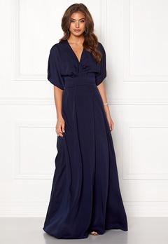 Make Way Lemonie kimono gown Dark blue Bubbleroom.eu 0adfa0b072