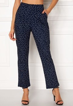 Make Way Nadine trousers Blue / White / Dotted Bubbleroom.eu