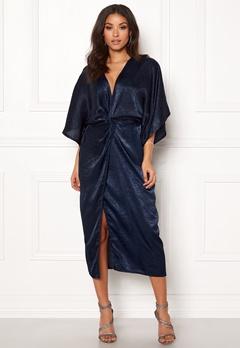 Make Way Nikki kimono dress Navy Bubbleroom.eu