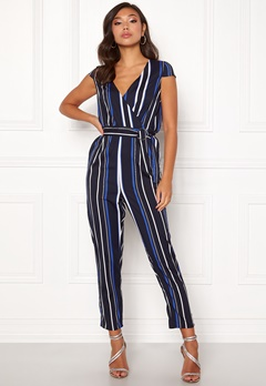 Make Way Patrina jumpsuit Blue / White / Striped Bubbleroom.eu