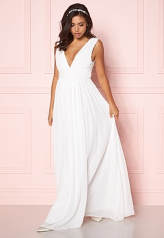 Make Way Prudence maxi dress Winter white Bubbleroom.eu