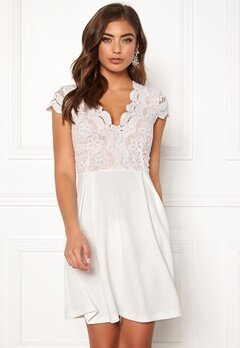 Make Way Rachel lace dress White / Beige Bubbleroom.eu