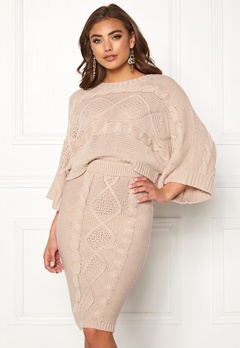 Make Way Rania knitted sweater Beige Bubbleroom.eu