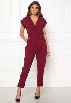 Make Way Rue jumpsuit Wine-red Bubbleroom.eu