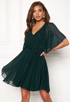 Make Way Sabine dress Dark green Bubbleroom.eu