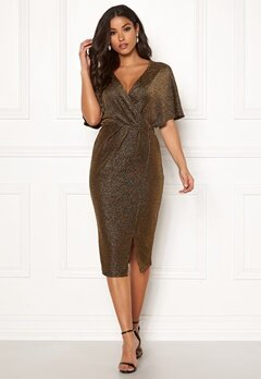 Make Way Selena sparkling dress Black / Gold Bubbleroom.eu