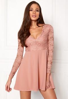 Make Way Shelby Dress Dusty pink Bubbleroom.eu