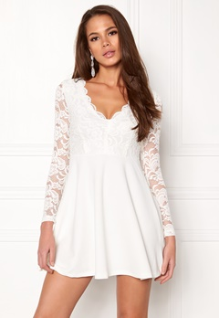 Make Way Shelby Dress White Bubbleroom.eu