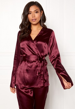 Make Way Tomika jacket Wine-red Bubbleroom.eu