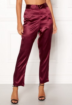 Make Way Tomika trousers Wine-red Bubbleroom.eu