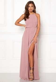 Make Way Vania maxi dress Old rose Bubbleroom.eu
