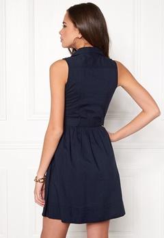 Make Way Iris Dress Dark blue Bubbleroom.eu