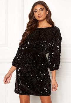 Make Way Lettina sequin dress Black Bubbleroom.eu