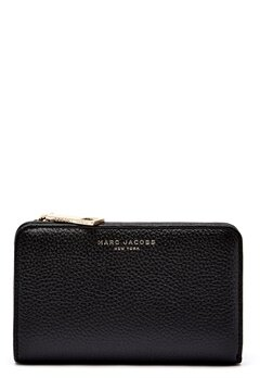 Marc Jacobs Compact Wallet 065 Black Gold Bubbleroom.eu