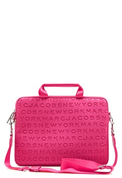 "Marc Jacobs Computer Case 13"" Punch Pink Bubbleroom.eu"