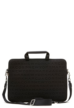 "Marc Jacobs Computer Case 15"" Black Bubbleroom.eu"