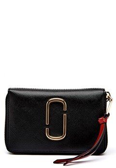 Marc Jacobs Small Standard Wallet 014 Black Bubbleroom.eu