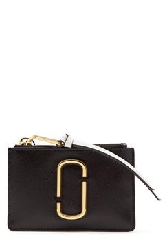 Marc Jacobs Top Zip Multi Wallet Black Baby Pink Bubbleroom.eu