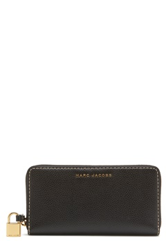 Marc Jacobs Vertical Zippy Purse Black Bubbleroom.eu