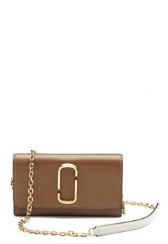 The Marc Jacobs Wallet on Chain 064 French Grey Mult Bubbleroom.eu