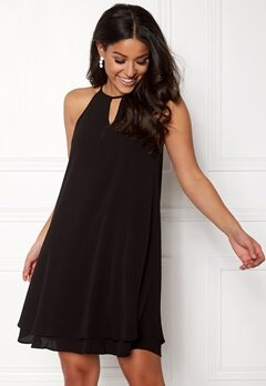 ONLY Mariana Myrina s/l Dress Black Bubbleroom.eu