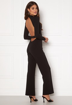 Martine Lunde X Bubbleroom Open back jumpsuit Black Bubbleroom.eu